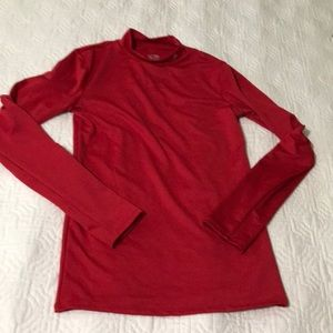 Champion, red Lycra slim fit shirt